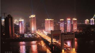 龙港年度航拍大片!这么美的夜景,震撼到你了吧...